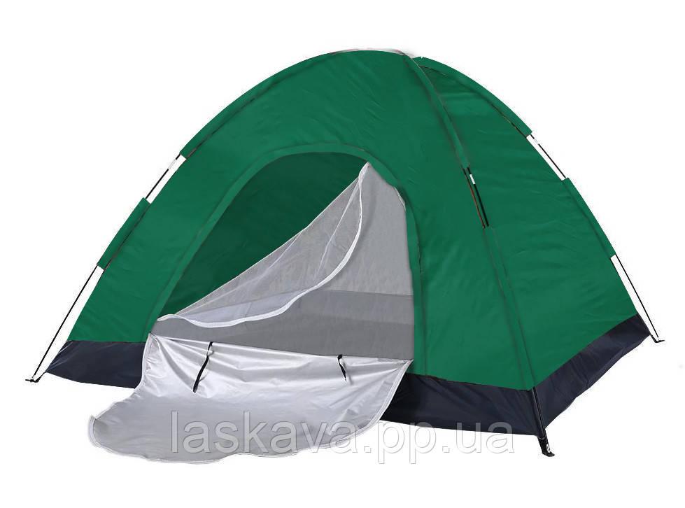Купольна Палатка чотиримісна Melad WM-OT323 Green (14955)