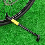 Ручний велосипедний насос з кріпленням DUUTI PP-05 Yellow, фото 7
