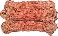 Канат капроновый, ø 8 мм х 50 м. кордовый , трех прядный, из кордовых нитей