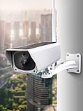 Вулична акумуляторна IP камера відеоспостереження CAD F20 2 mp з сонячною панеллю (4946), фото 8