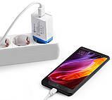 Мережевий зарядний пристрій (адаптер, зарядка) UKC 5216 Fast Charge QC 3.0 AR 60 (4311), фото 3