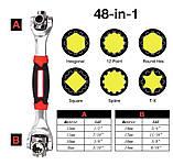 Универсальный торцевой ключ 48 в 1 Universal Wrench (14412) Siamo, фото 7
