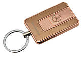 Спиральная электрическая USB зажигалка UKC 811 Mercedes-Benz Gold Siamo, фото 2
