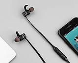 Спортивные Bluetooth наушники Awei AK4 Black (5014) Siamo, фото 7