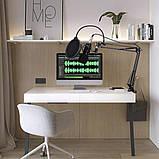 Студийный микрофон Manchez BM800 (Jack 3.5 мм) со стойкой пантограф и поп-фильтром Black Siamo, фото 10