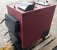 Котел твердотопливный с электроникой и вентилятором, 18 кВт (обогрев 180 м.кв.)