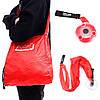 Портативная сумка для покупок и хранения многофункциональная вращающаяся телескопическая ультрамаленькая шопер