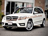 Накладки на бампер передняя и задняя Mercedes-Benz GLK 2008-12