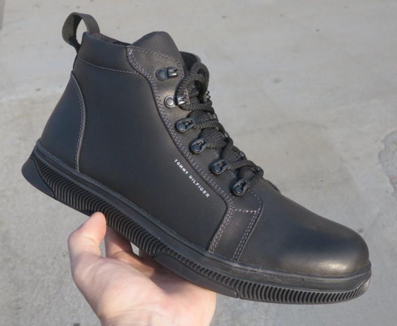 Tommy Hilfiger зимові чоловічі шкіряні черевики 46,47,48, 49
