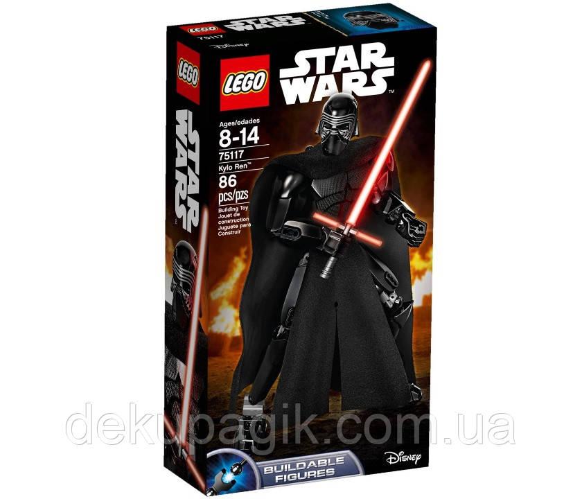 Lego Star Wars Кайло Рен 75117