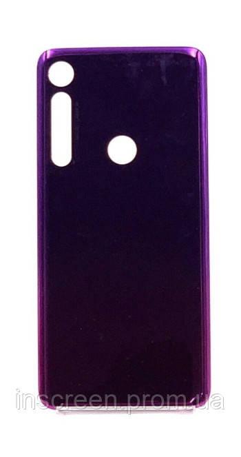 Задняя крышка Motorola XT2016-1 One Macro фиолетовая, Ultra Violet, Оригинал Китай