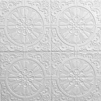 Декоративна самоклеюча 3d панель 700*700*7,5 мм. на стелю та стіни