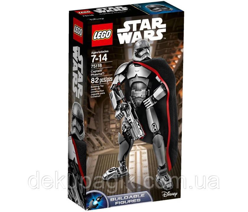 Lego Star Wars Капитан Фазма 75118