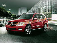 Пороги Original для Mercedes-Benz GLK 2008+