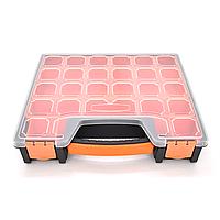 Пластмасовий переносний ящик для інструментів 310 х 265 х 60мм F-312