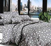 Набор постельного белья Двухспальный комплект ткань бязь размер 175х215 см Звёды