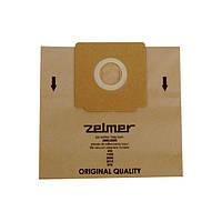 Набір паперових мішків (5шт) для пилососів Zelmer \ Bosch 2000.0080 12000745