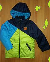 Детская демисезонная куртка для мальчика, р.134