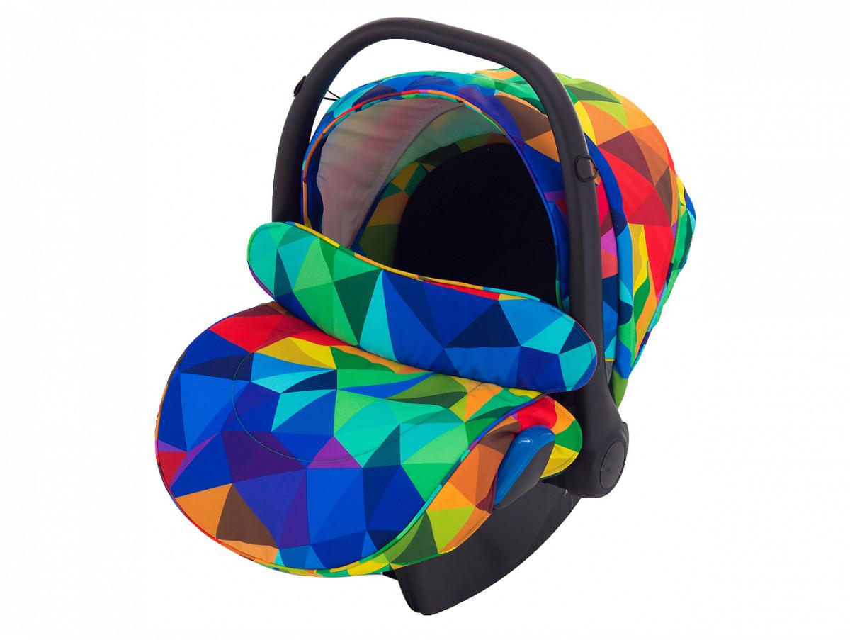 Автокрісло Adamex Kite Y123 різнобарвний калейдоскоп