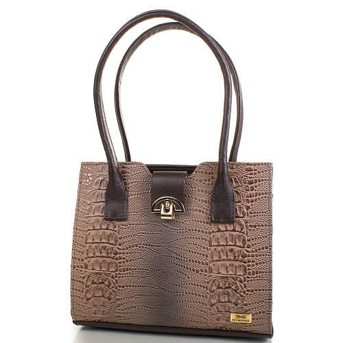 Элегантная женская сумка из качественной искусственной кожи ETERNO Артикул: ETMS35239-12 коричневый
