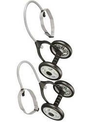 Набір гімнастичних коліс з еспандером DD 6959