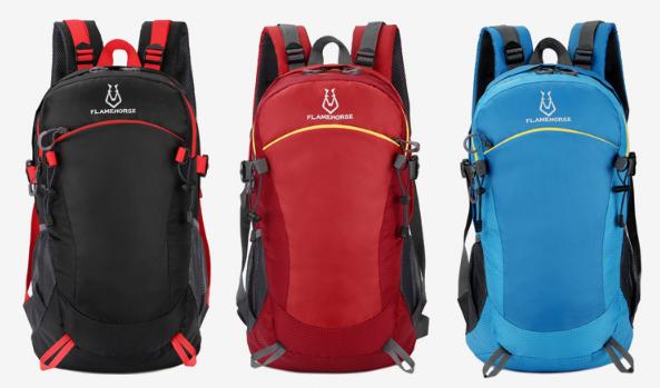 Рюкзак яркий спортивный Flamehorse