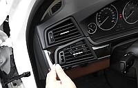 Дефлектор Обдува Климата левый BMW БМВ 5 F10 F11 F18 64229166883, фото 1