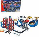 """Детский игровой инерционный гоночный паркинг-трек с трамплинами и 4 машинками """"Orbital"""", фото 2"""