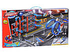 """Детский игровой инерционный гоночный паркинг-трек с трамплинами и 4 машинками """"Orbital"""", фото 3"""
