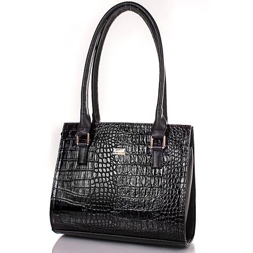 Изящная женская сумка из искусственной кожи ETERNO ETMS35252-2 черный