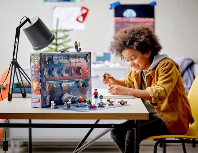 LEGO 76196 Новогодний адвент календарь Marvel Мстители супергерои лего AVANGERS 2021