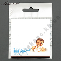 "Бумага с липким слоем Атлас ""На столе у..."" 30 листов 67*74мм"