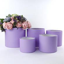 Круглые коробки БЕЗ КРЫШКИ для цветов