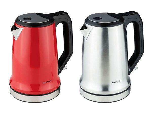 Чайник SILVERCREST  SWKD 2200 A1,   1,7 л, з фільтром від  вапняного нальоту, червоний