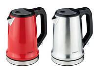 Чайник SILVERCREST  SWKD 2200 A1,   1,7 л, з фільтром від  вапняного нальоту, червоний, фото 1