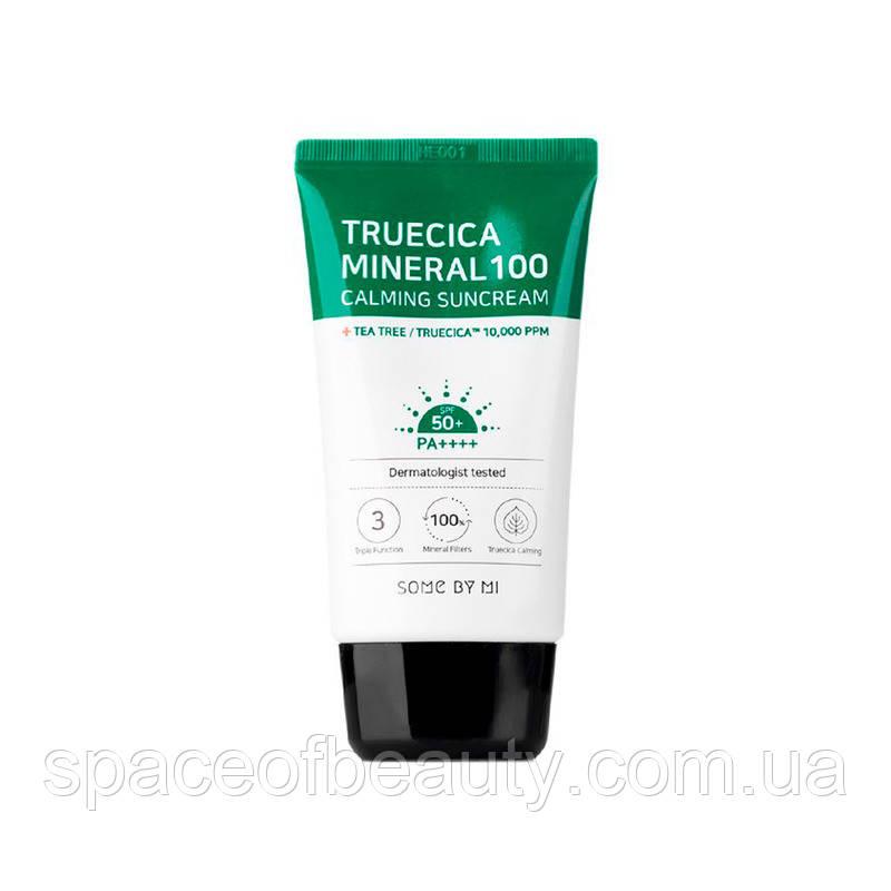 Крем солнцезащитный Some by Mi Truecica Mineral 100 Calming Suncream SPF50+ PA++++ 50 ml
