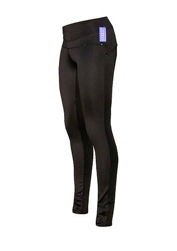 Классические брюки стрейч современной деталировки