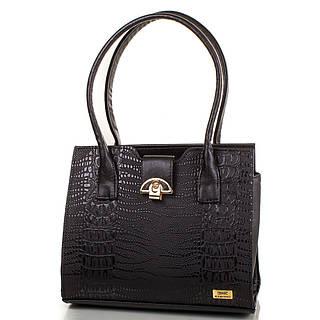 Прекрасная женская сумка из качественной искусственной кожи ETERNO Артикул: ETMS35239-2 черный
