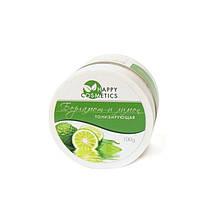 Тонизирующая соль для ванн с эфирными маслами Бергамота и Лимона VELENA, 100 г