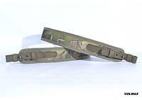 Ремень для ружья прямой камуфляж с неопреном Премиум