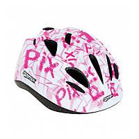Шлем детский Pix Tempish, розовый, размер S(49-53)