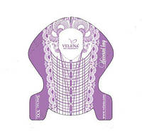 Универсальные формы шаблоны для ногтей Special XXL 10 шт VELENA
