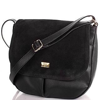 Компактная женская сумка из искусственной кожи ETERNO ETMS0594-2 черный