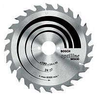 Пильный диск 160x20/16x24 Bosch