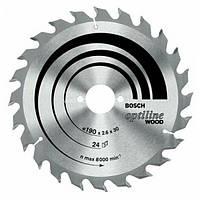 Пильный диск 190x20/16x36 Bosch