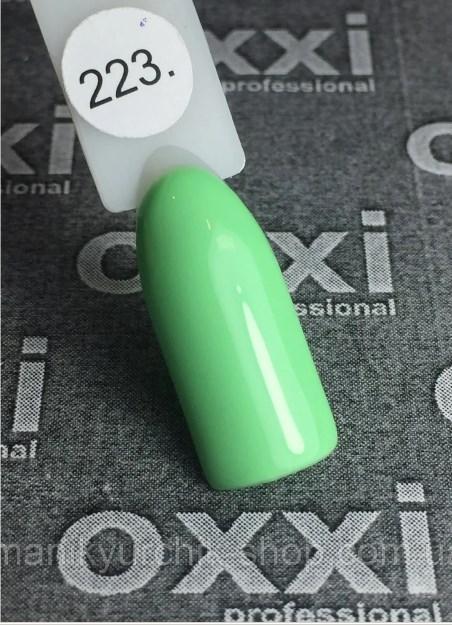 Гель-лак Oxxi professional №223 10мл,