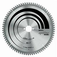 Пильный диск 254x30x60 Bosch