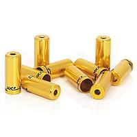 Наконечники тормозные на рубашки XLC BR-X10, ø5,0мм 50шт, золотой
