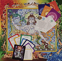Игра Лила Тантра. Карты 79 шт.+ тубус 50х11 см.+поле-холст 50х50 см.+книга