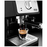 Рожковая кофеварка эспрессо Delonghi ECP 33.21, фото 3